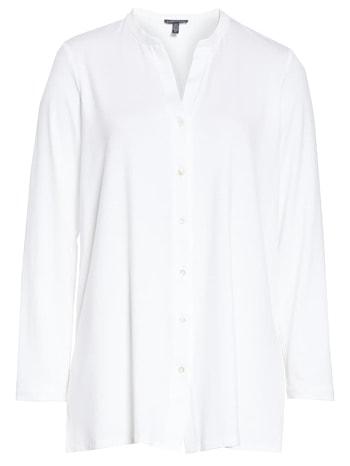 White long sleeve blouse   40plusstyle.com