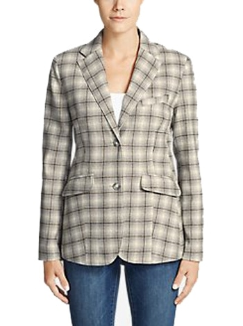 Eddie Bauer classic blazer in tall womens clothing | 40plusstyle.com