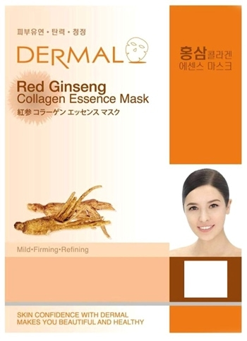 Dermal Korea Collagen Essence Full Face Facial Mask Sheet (16 combo pack) | 40plusstyle.com