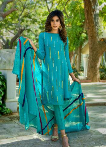 Buy Exclusive Aqua Luxury Pret – Sds434 Online In USA, Uk & Pakistan
