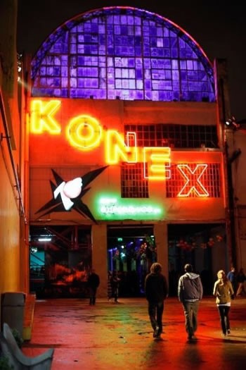 Konex Cultural Center in the Abasto neighborhood of Buenos Aires