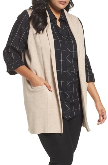 stylish sleeveless sweater vests for warmth AND style   40plusstyle.com