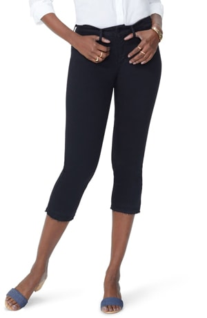 black capri jeans | 40plusstyle.com