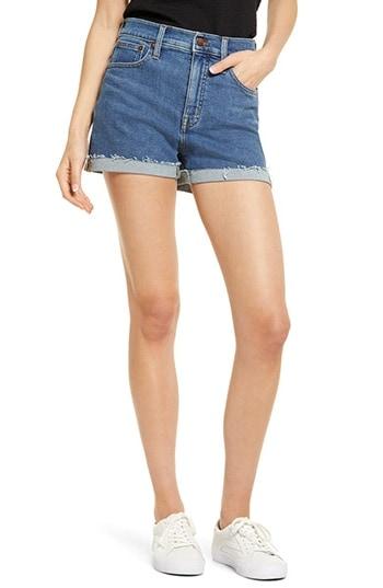 Madewell High Waist Denim Shorts | 40plusstyle.com
