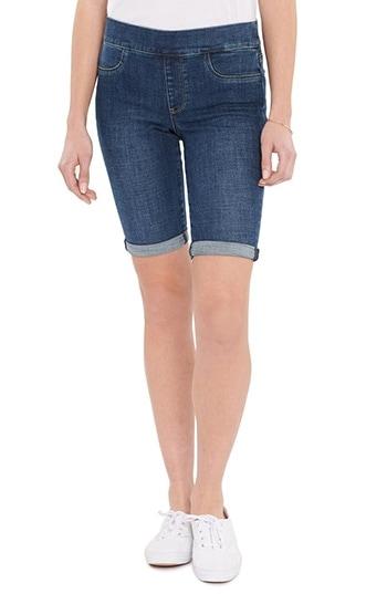 NYDJ Pull-On Denim Shorts | 40plusstyle.com