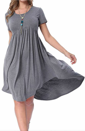 High low dress | 40plusstyle.com