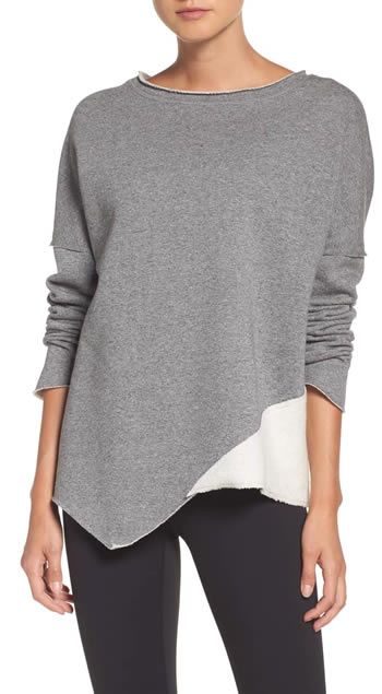 Asymmetrical sweater | 40plusstyle.com