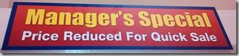 Kroger Manager's Special