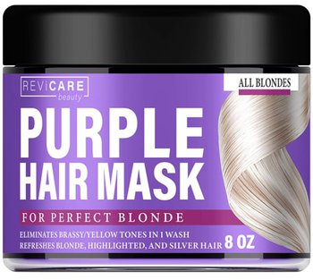 Revicare Beauty Purple Hair Mask | 40plusstyle.com