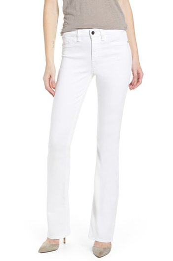 JEN7 by 7 For All Mankind slim bootcuts | 40plusstyle.com