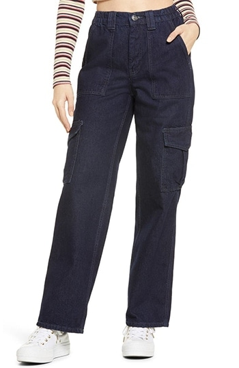 BDG Urban Outfitters cargo jeans | 40plusstyle.com