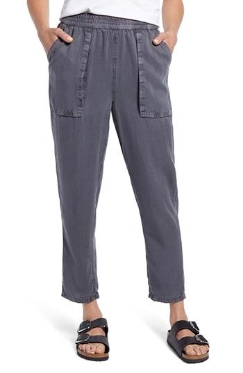 Treasure & Bond pigment wash cargo pants | 40plusstyle.com