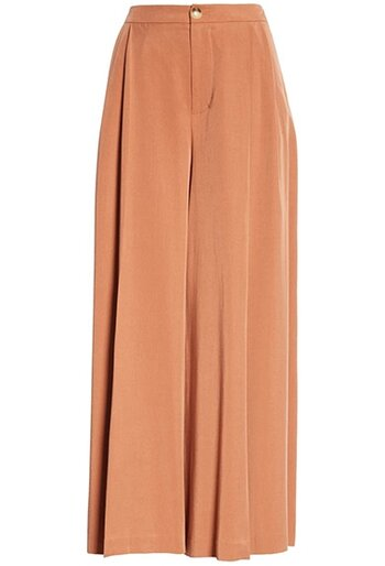 Vince pleated culottes | 40plusstyle.com