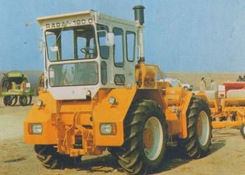 A Rába-180 traktor története