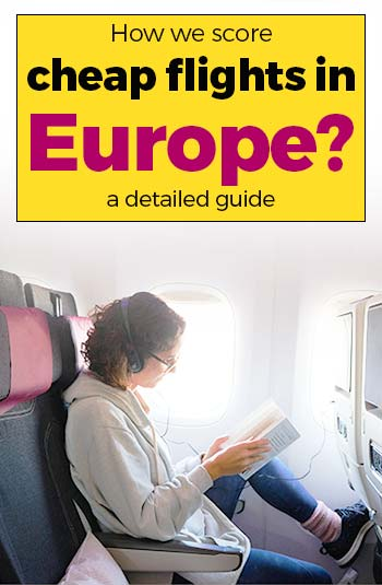 Cheap Flights in Europe