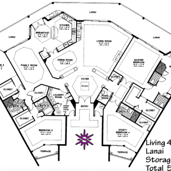 Crescent Penthouse Floor Plan