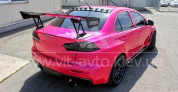 Фото нанокерамики на автомобиль Mitsubishi Lancer Evolution 10 - 7