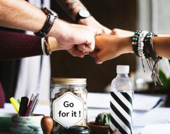 Motivation Tips - Group Fistbump