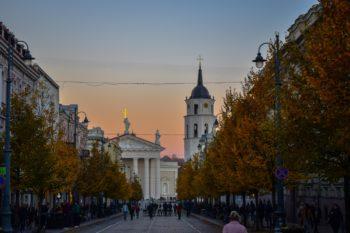Vilnius in the Baltics