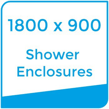 1800 x 900 shower enclosures