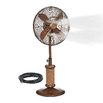 Dynamic Collections Pedestal Misting Fan