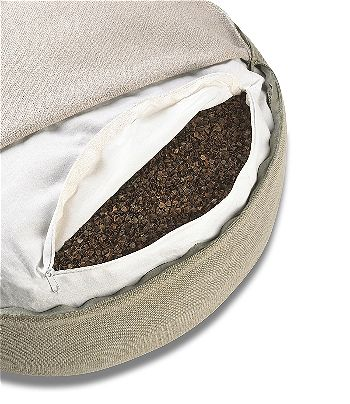 Shastana XL Extra-Large Tall Buckwheat Filled Bolster