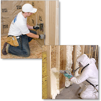 Use Fiberglass insulation when soundproofing a room.