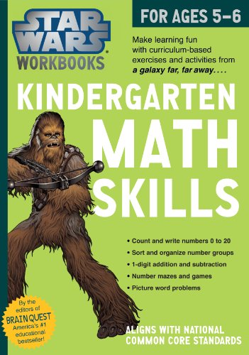 Star Wars Workbook- Kindergarten Math Skills (Star Wars Workbooks) By Workman Publishing
