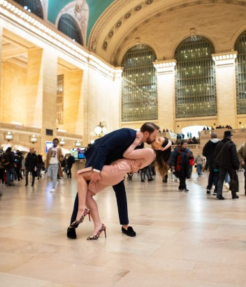 Wedding Ceremony in Grand Central