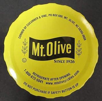 Mt Olive Jar Lid