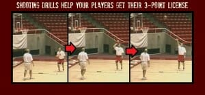 Shooting Drill for 3-Point License
