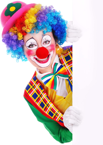 Cha cha clown magic show