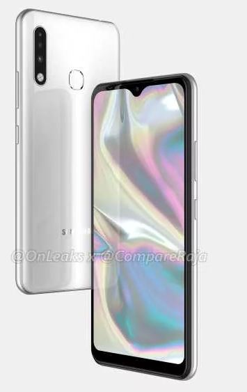 Samsung Galaxy A70e Display