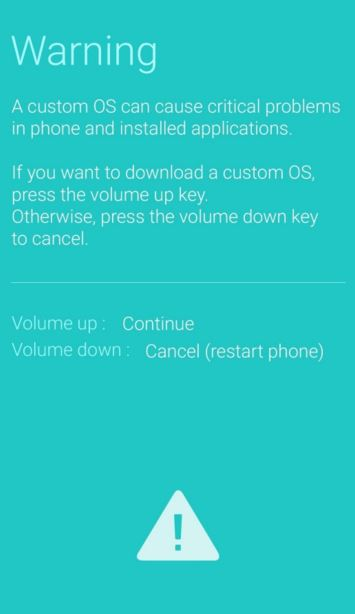 Note 5 Download mode