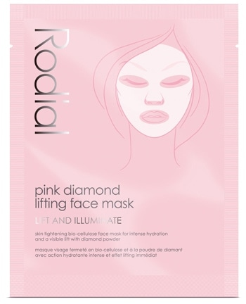 Rodial Pink Diamond Lifting Face Mask | 40plusstyle.com