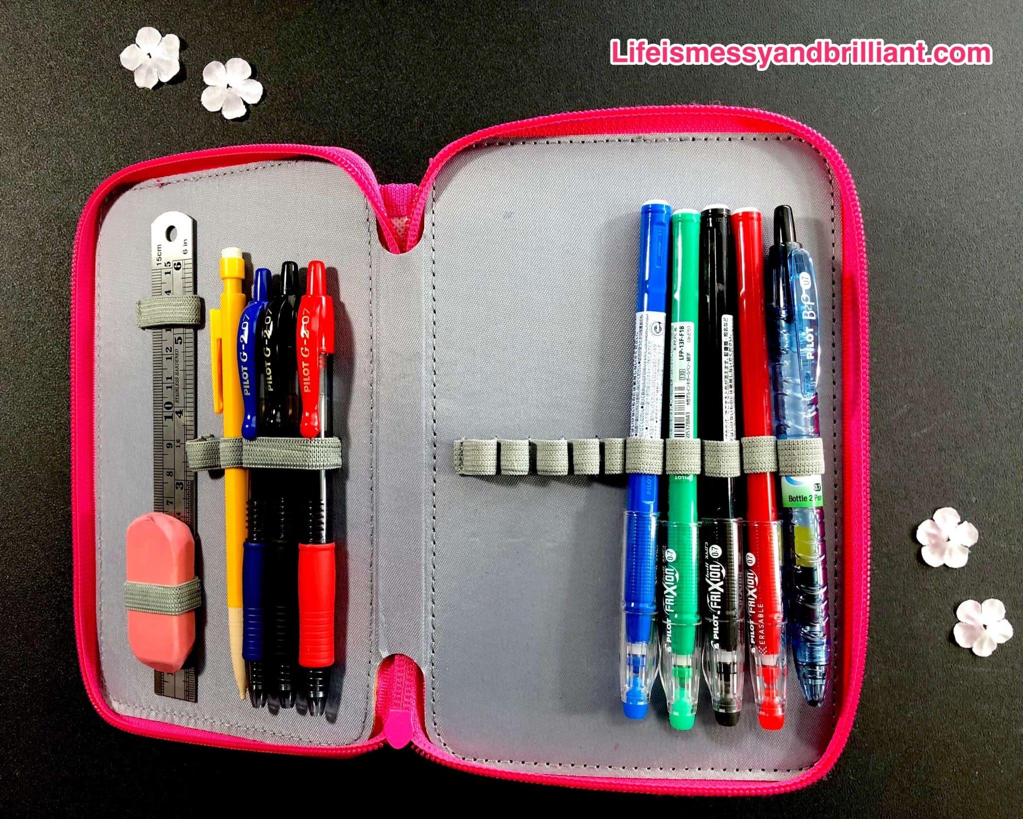 how i organize my favorite bullet journal supplies