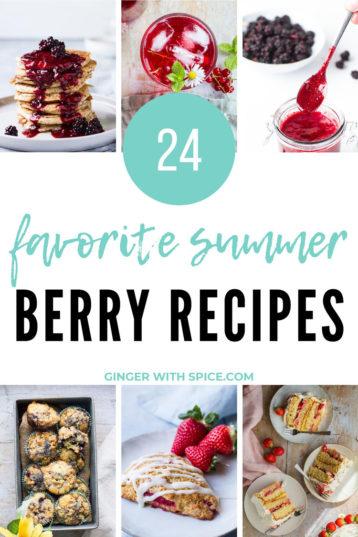 24 Favorite Summer Berry Recipes