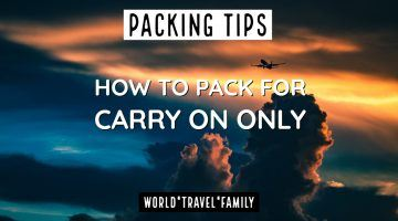 Travel Gear Packing for Carry On Travel Cabin Baggage