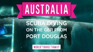 Australia scuba diving on the great barrier reef from port douglas