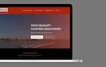 Artco Painting webdesign