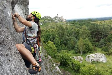 traditional climbing course in Poland