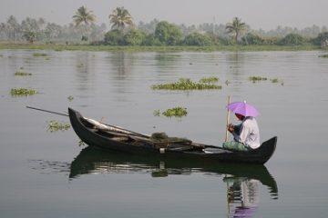 boating in kerala