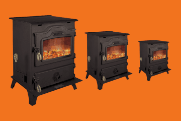 Harman Coal Burning Stove - Legacy Mark II