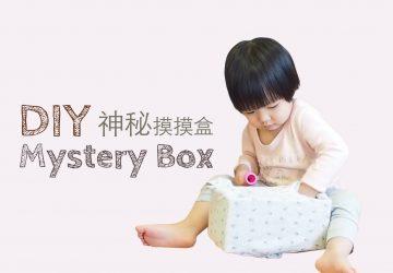 DIY 自製面紙盒玩具 — 神秘摸摸盒