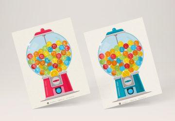 泡泡糖扭蛋機遊戲 -玩遊戲學注音結合韻( 2  款圖檔分享)