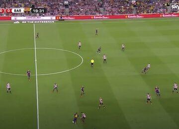 Messi Goal Versus Athletic Bilbao