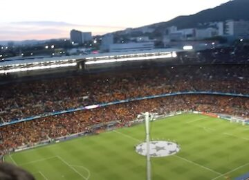 Barcelona Camp Nou View