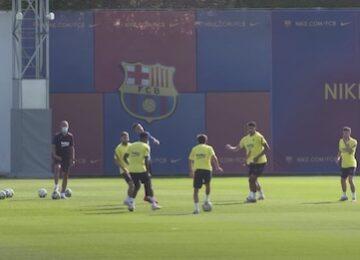 Barcelona Practice Drills