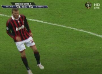 David Beckham Achilles Injury