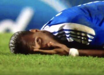Drogba Diving Acting